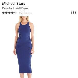 NWOT Michael Stars Racerback Midi Dress